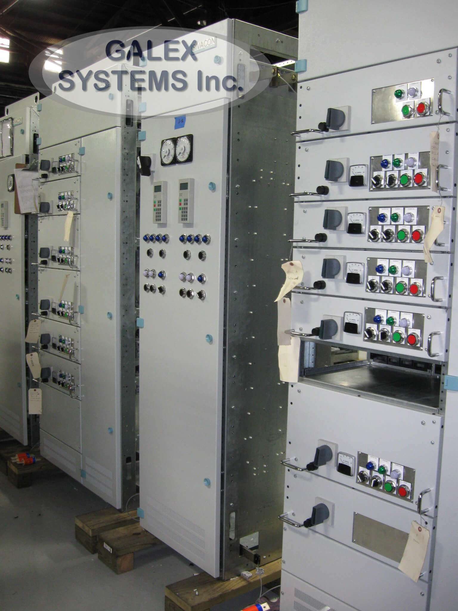 38 Motor Control Center Galex Systems Inc