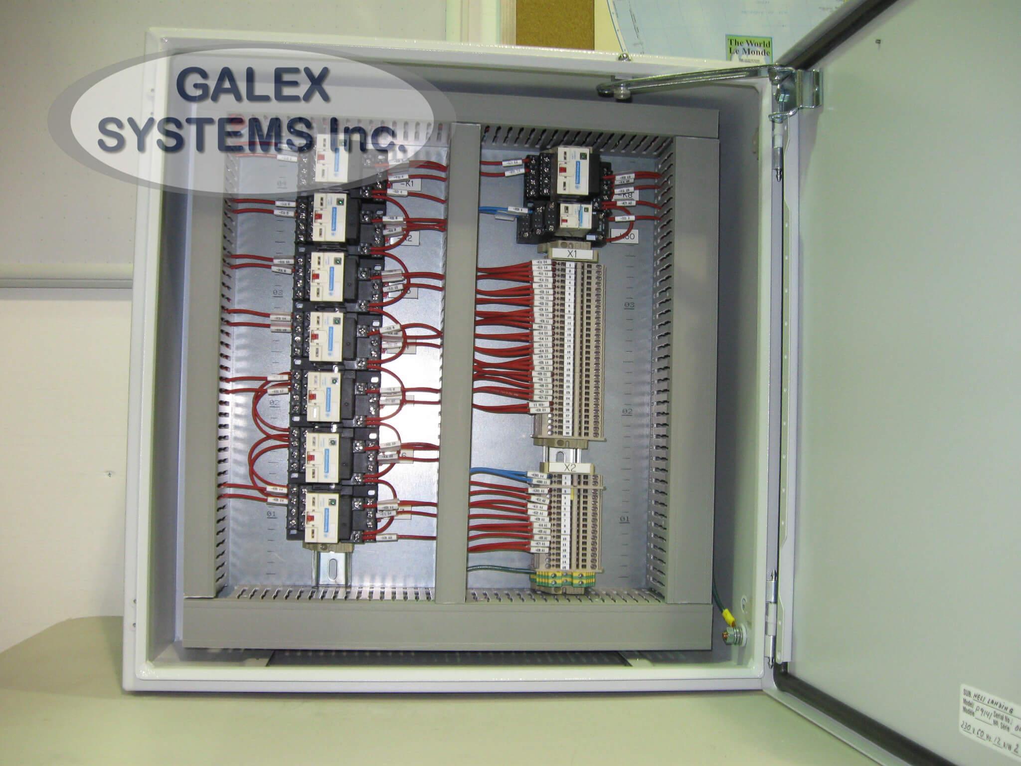 49 - Helideck Lighting Control Box - Galex Systems Inc.