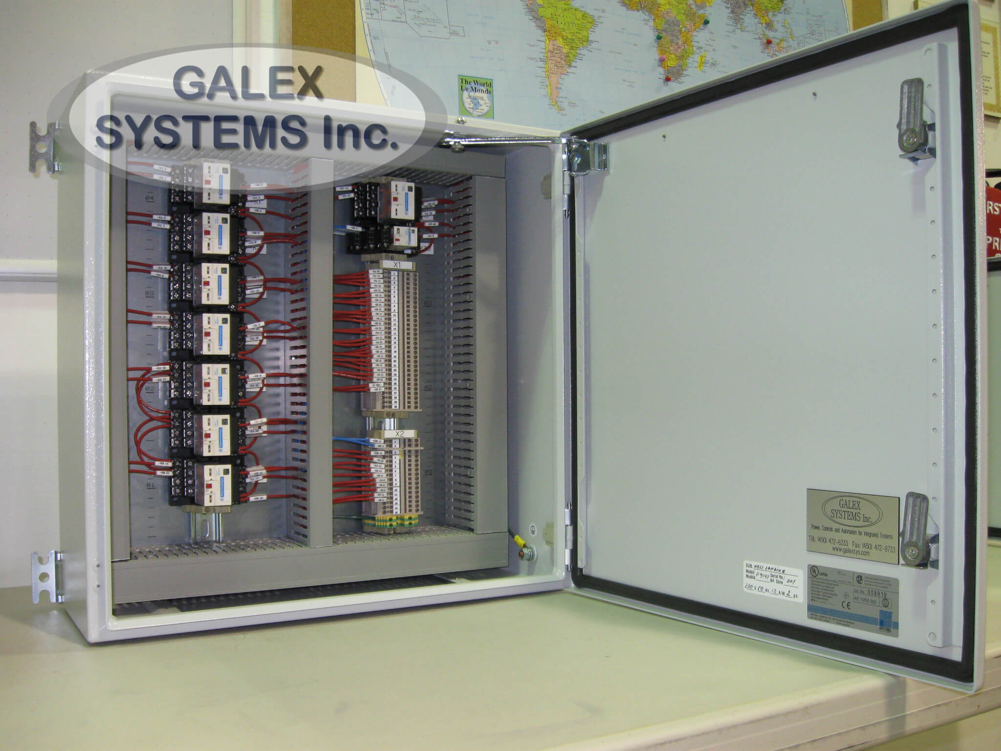 49 - Helideck Lighting Control Box - Galex Systems Inc.